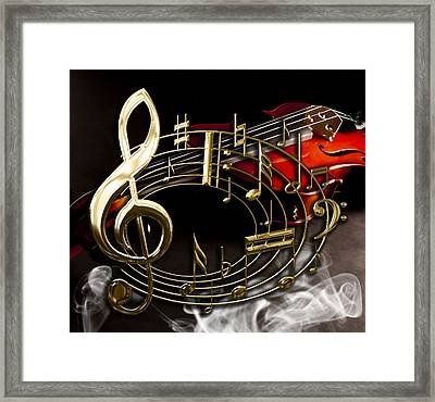 Musical Collection Framed Print by Marvin Blaine