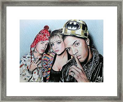 N Dubz Framed Print by Andrew Read
