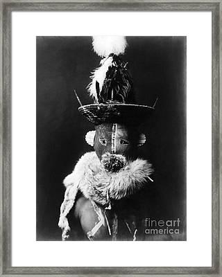 Navajo Mask, C1905 Framed Print by Granger