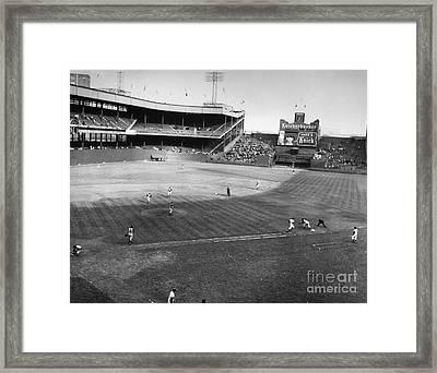 New York: Polo Grounds Framed Print by Granger