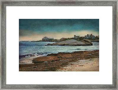 Newport State Of Mind Framed Print by Robin-lee Vieira