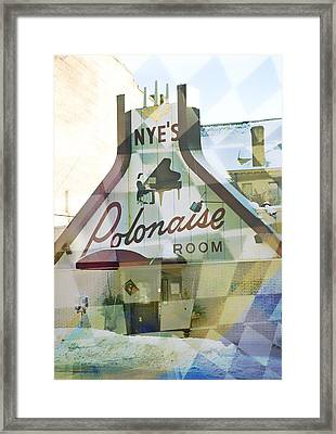Nye's Polonaise Room Framed Print by Susan Stone