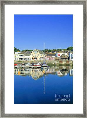Padstow Framed Print by Carl Whitfield