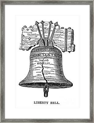 Philadelphia: Liberty Bell Framed Print by Granger