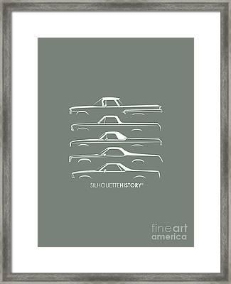 Pickupino Silhouettehistory Framed Print by Gabor Vida