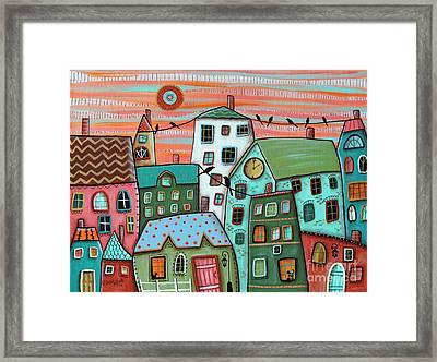 2 Pm Framed Print by Karla Gerard