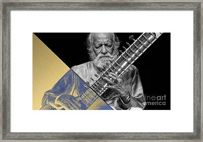 Ravi Shankar Collection Framed Print by Marvin Blaine