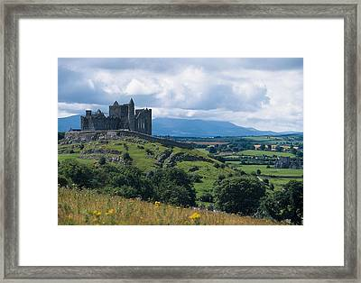 Rock Of Cashel, Co Tipperary, Ireland Framed Print by The Irish Image Collection