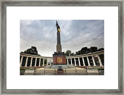 Russian Liberation Monument Framed Print by Andre Goncalves