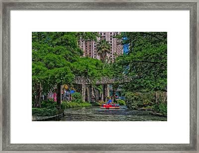 San Antonio River Walk Framed Print by Mountain Dreams