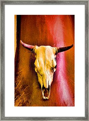 Seeing Red Framed Print by Jan Amiss Photography