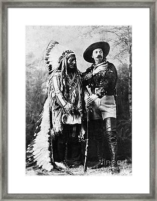 Sitting Bull (1834-1890) Framed Print by Granger