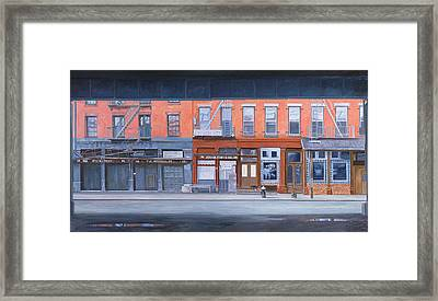 South Street Framed Print by Anthony Butera