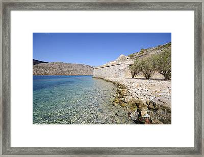 Spinalonga Framed Print by Stephen Smith
