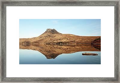 Stac Pollaidh Framed Print by Grant Glendinning