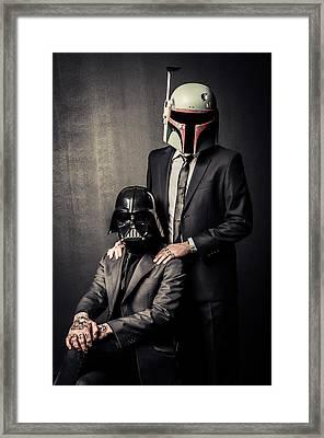 Star Wars Dressman Framed Print by Marino Flovent