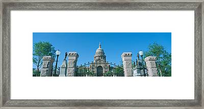 State Capitol, Austin, Texas Framed Print by Panoramic Images
