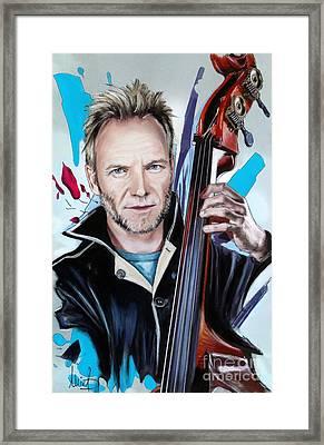 Sting Framed Print by Melanie D