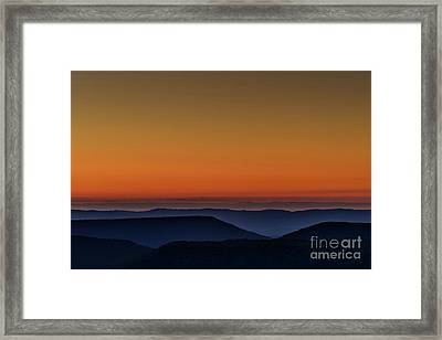 Summer Solstice Sunrise Framed Print by Thomas R Fletcher