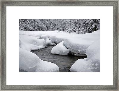 Swift River - White Mountains New Hampshire Usa Framed Print by Erin Paul Donovan