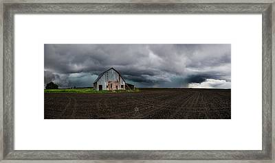 Take Shelter  Framed Print by Aaron J Groen