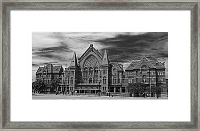 The Historic Cincinnati Music Hall Framed Print by Mountain Dreams