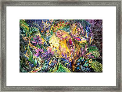 The Life Of Butterfly Framed Print by Elena Kotliarker