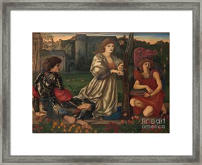 The Love Song Framed Print by Celestial Images