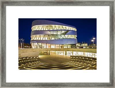 The Mercedes-benz Museum Framed Print by Werner Dieterich