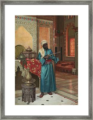 The Palace Guard Framed Print by Eastern Accent