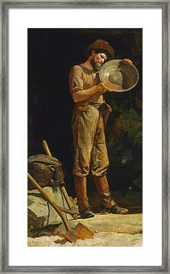 The Prospector  Framed Print by Julian Ashton