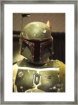 The Real Boba Fett Framed Print by Micah May