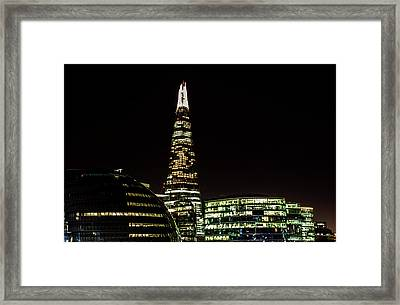 The Shard Framed Print by Martin Newman