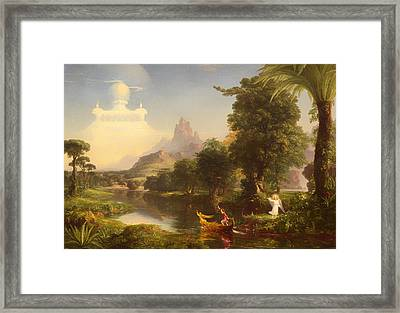 The Voyage Of Life - Youth Framed Print by Mountain Dreams