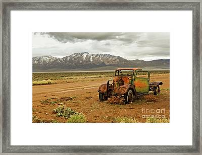 This Old Truck  Framed Print by Robert Bales