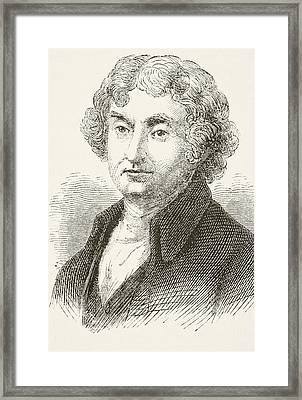 Thomas Jefferson 1743 - 1826. Third Framed Print by Vintage Design Pics