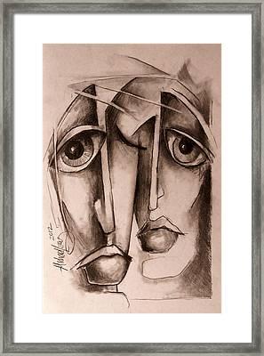 'together' Framed Print by Michael Lang