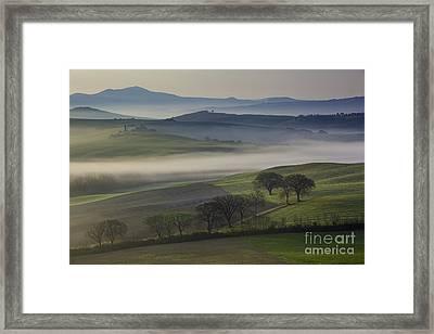 Tuscan Dawn Framed Print by Brian Jannsen