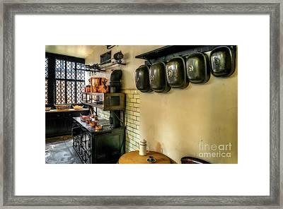 Victorian Kitchen Framed Print by Adrian Evans