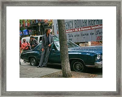 Vinyl,the Series Hbo Framed Print by Artisan  Array