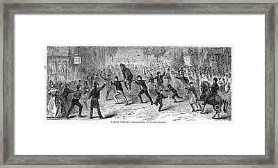 Whiskey Rebellion, 1794 Framed Print by Granger