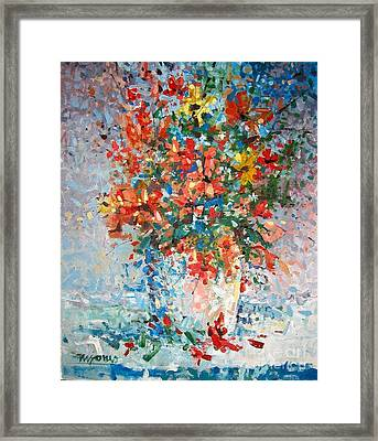 Wildflowers Framed Print by Micheal Jones