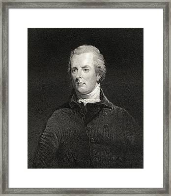 William Pitt The Younger 1759-1806 Framed Print by Vintage Design Pics