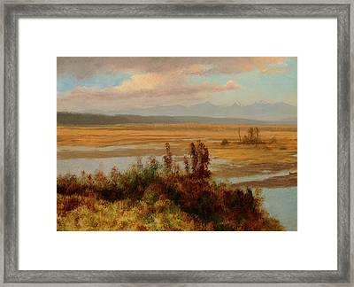 Wind River Country Framed Print by Albert Bierstadt