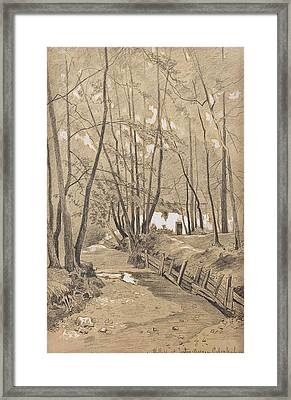 Woods Framed Print by Franz Xaver