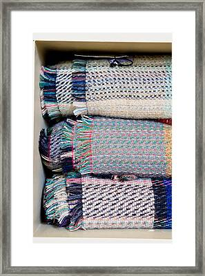 Wool Blankets Framed Print by Tom Gowanlock