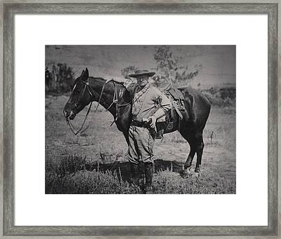 Young Theodore Roosevelt Dressed Framed Print by Everett