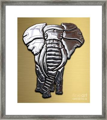 Elephant Collection Framed Print by Marvin Blaine
