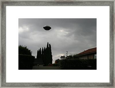 2004 Real Ufo Evidence Framed Print by Michael Ledray