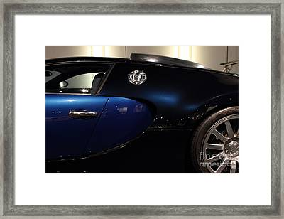 2006 Bugatti Veyron - 7d17281 Framed Print by Wingsdomain Art and Photography